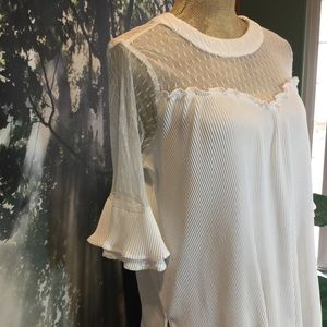 Sweetheart Neck, Lace Tunic Top M Jodfil Summer